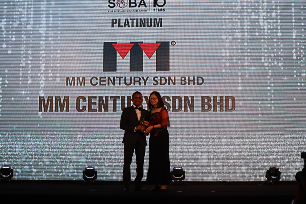 MM Century- SOBA 10 Years, Star Outstanding Business Award